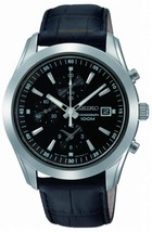 Seiko, men watch, chronograph, classic / casual, SNDA87 - $170.00