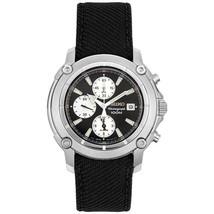 Seiko, men watch, chronograph, SNA783 - $199.00