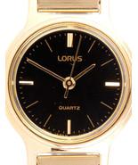 Lorus watch, Black dial,  RPH696, analog, quartz - $29.00