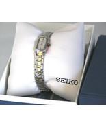 Seiko, women watch, stainless steel, SZZC34, analog, women's - $138.00