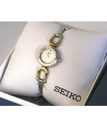 Seiko, women watch, stainless steel, SUJE69, analog, women's - $134.00
