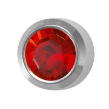 SELECT Stainless Regular Birthstone July R - $9.99