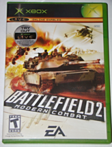 XBOX - EA - BATTLE FIELD 2 MODERN COMBAT (Complete with Manual) - $8.00