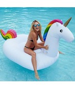 Giant Magical Unicorn Rainbow Inflatable 9 Feet... - $46.95