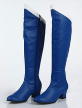 Sailor Mercury Cosplay Boots for Sale, Ami Mizuno Sailor Mercury Cosplay Shoes - $60.00