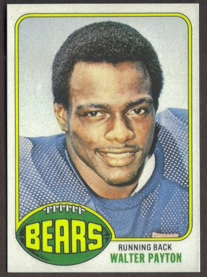 WALTER PAYTON Rookie Card RP #148 Bears RC 1976 T Free Shipping