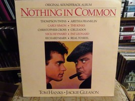 Nothing In Common Banda Sonora LP Record Álbum Vinilo - $5.18