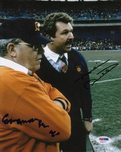 Buddy Ryan Mike Ditka Signed Photo 8 X10 Rp Autographed Chicago Bears - $19.99
