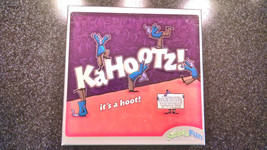 KaHootz! by Simply Fun Family Board Game 2008 Ages 8+ Charades 6+ Players - $8.59