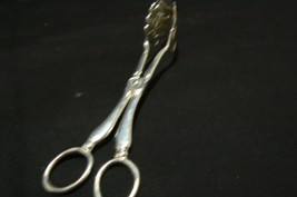Vintage Leonard Silver plate Serving Tongs - $24.74