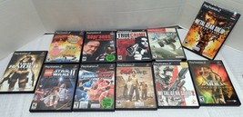 Lot of 11 PS2 Games (Sony Playstation) Sopranos, True Crime, Star Wars - $23.75