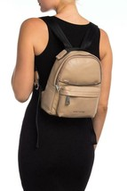 Marc Jacobs Varsity Pack Small Leather Backpack Sandstone Bag MSRP $395.00 - $277.19