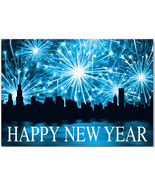 Night Lights New Year's Cards - $60.50+