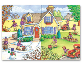 Seasonal Services Landscaping Holiday Cards - $60.50+