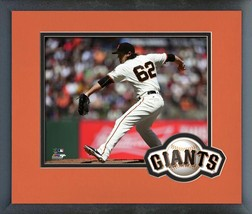 Cory Gearrin 2016 San Francisco Giants  - 11 x 14 Team Logo/Matted Framed Photo - $42.95
