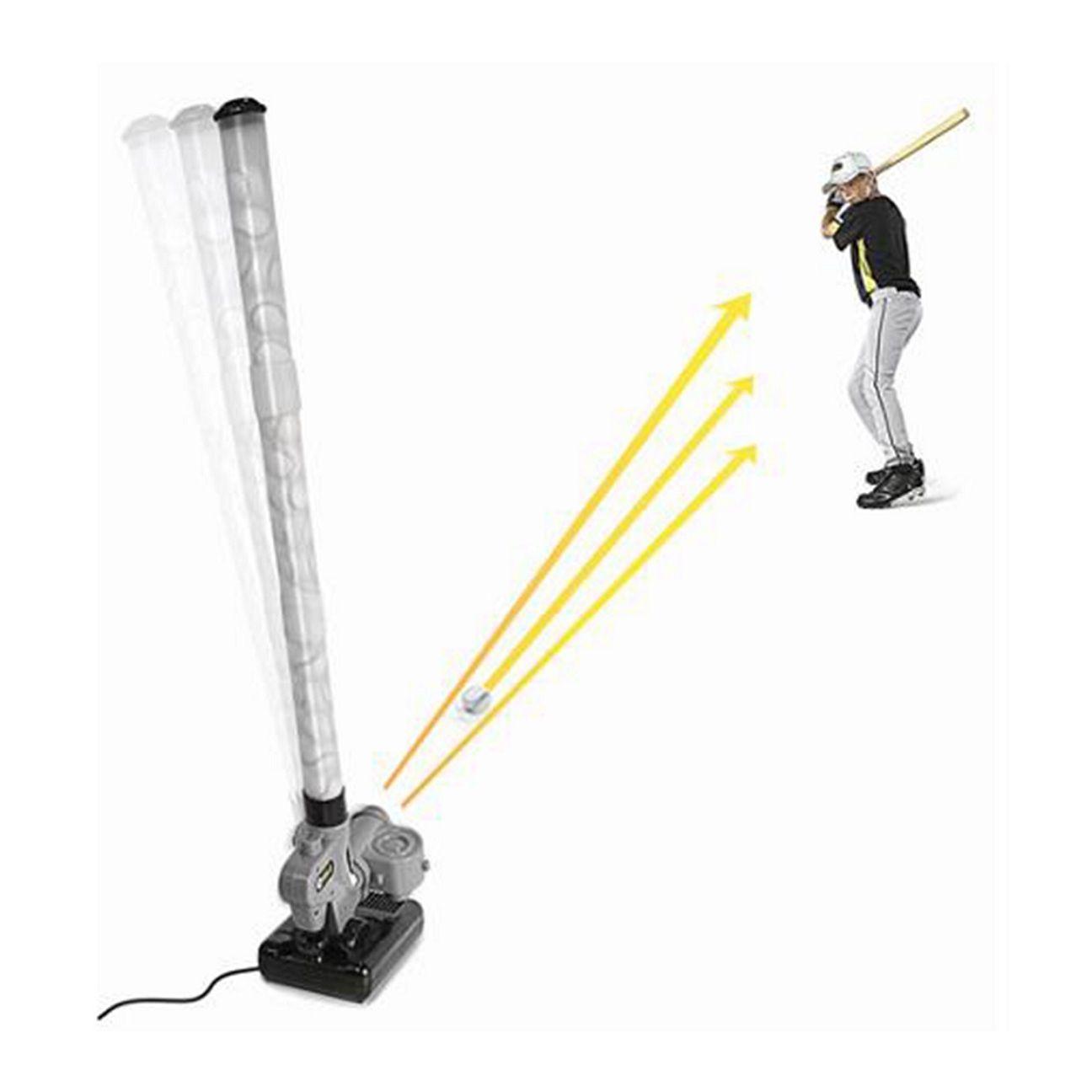 baseball pitching machine balls
