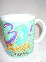 30! Perfection is Possible Birthday Novelty Mug New - $3.99