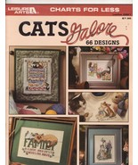 Cats Galore Leisure Arts Charts For Less Cross ... - $8.99