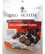 Brookside Dark Chocolate Goji and Raspberry Fla... - $3.50