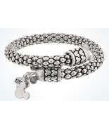 Disney Parks Mickey Mouse Silver Metal Wrap Bracelet Alex & Ani New with... - $1.612,11 MXN