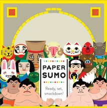 Paper Sumo by COCHAE Yosuke Jikahara and Miki Takeda Design Game Toy NIB