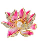 Pinxu jewelry new pearl brooch female gift custom promotional items - $22.46