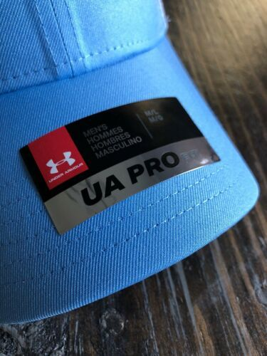 Under Armour Fish Hunter Trucker Hat in Carolina Blue Stretch Fit OSFA M/L image 4