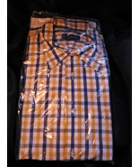 Lands End Men's Plaid Shirt 17 36T Brand New! - $9.99