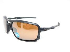Oakley Triggerman POLARIZED Sunglasses OO9266-05 Matte Black W/Tungsten Iridium - $128.69