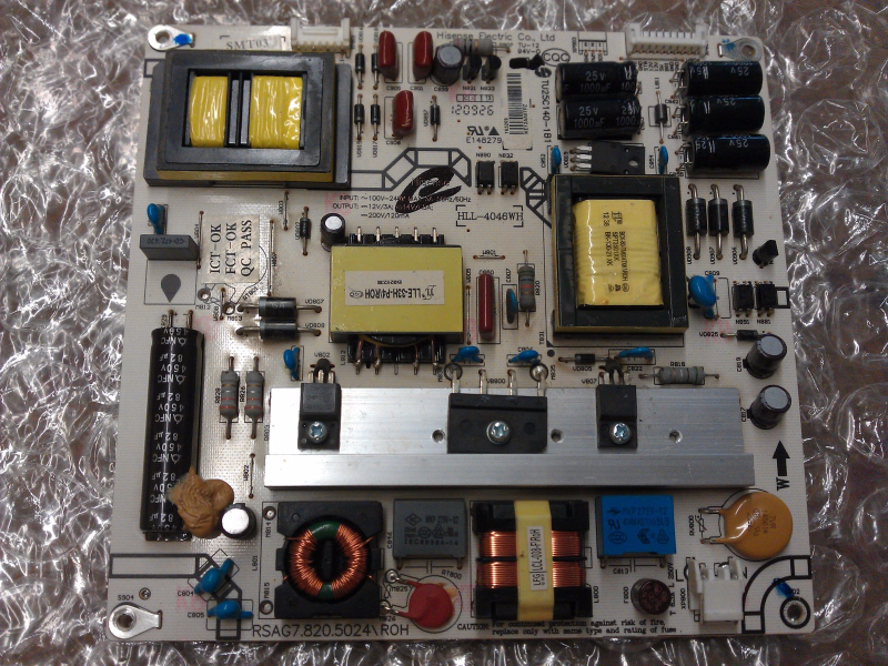 163269 Power Supply Board Board From Hisense 50K360G LCD TV