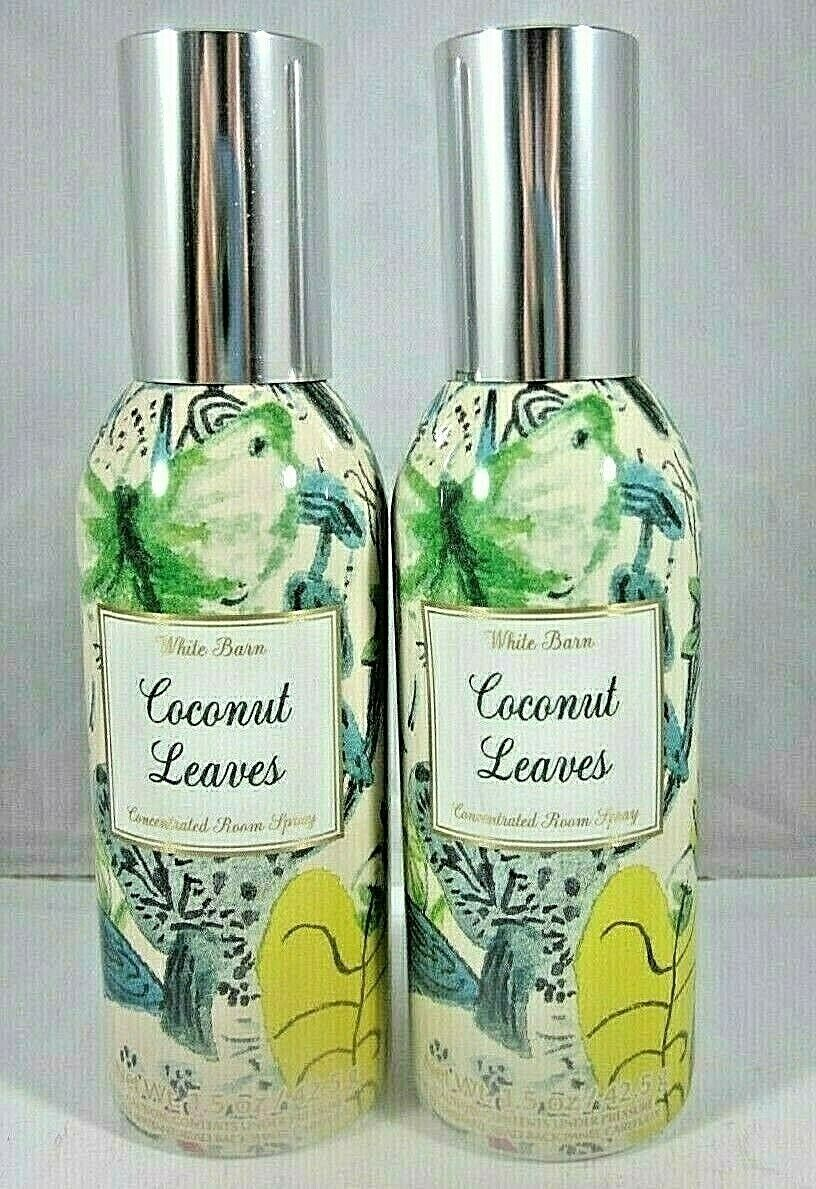 Primary image for 2 sprays Bath & Body Works Room Fragrance Spray Coconut Leaves