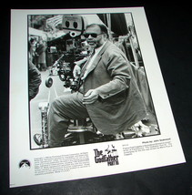 1990 Godfather Iii Movie 8x10 Press Photo Director Francis Ford Coppola Gf3 23 - $9.99
