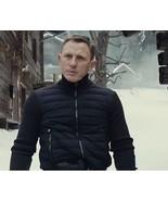 SPECTRE James Bond knitted sleeve bomber jacket - Daniel Craig Bomber Ja... - $77.99