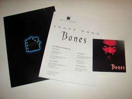 2001 BONES Movie PRESS KIT Folder Photo Disc Production Notes Snoop Dogg... - $16.24