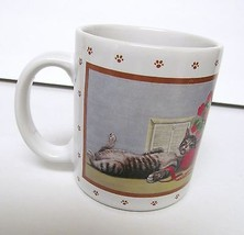 LOWELL HERRERO VINTAGE CAT MUG CUP BY VANDOR  1986 MADE IN JAPAN - VERY ... - $18.95