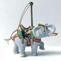 LENOX CAROUSEL ELEPHANT ORNAMENT 1989 CHRISTMAS ANIMAL HOLIDAY TREE w/BOXES - £26.73 GBP