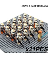 21pcs/set Obi-Wan Kenobi Leader the 212th Attack Battalion Star Wars Min... - $29.99