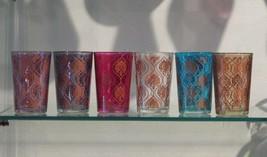 Moroccan tea glasses-Moroccan tea glass- Moroccan tea set- tea glasses M... - $34.44