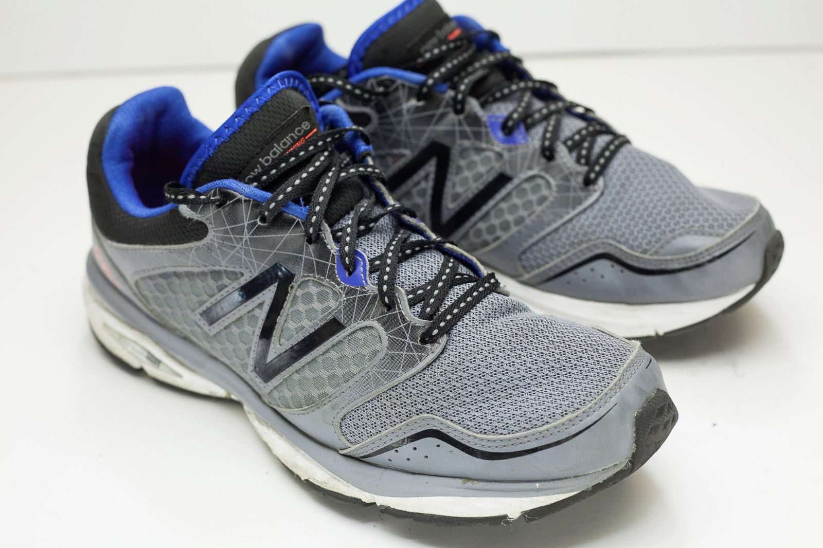 New Balance 695 Sz 8 Gray Running Shoes Men's