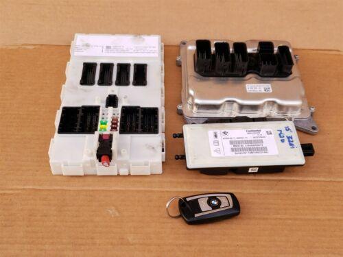 Bmw F30 F33 328i 428i N20 2.0 4cyl Turbo DME ECU Key Cas Ignition Module Set