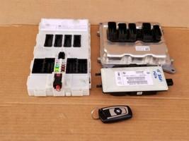 Bmw F30 F33 328i 428i N20 2.0 4cyl Turbo DME ECU Key Cas Ignition Module Set image 1