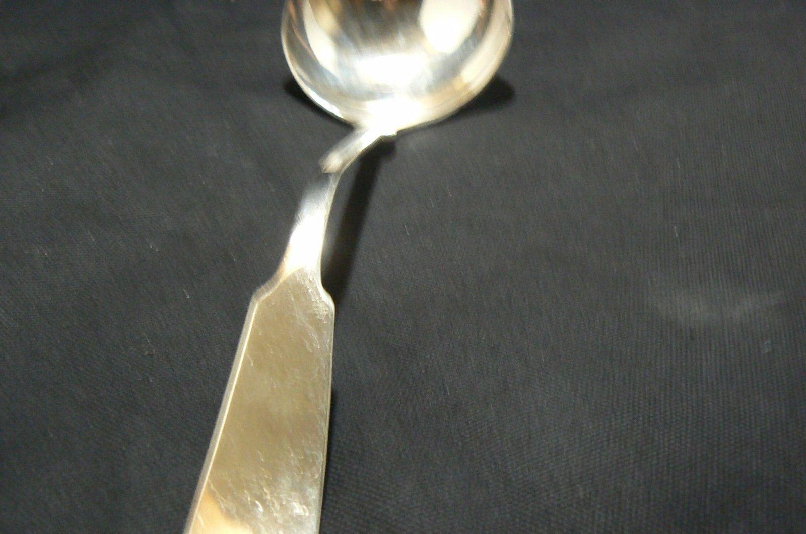 Antique/Vintage The Baileys, Banks & Biddle Co.Fine Silverplate Soup Ladle