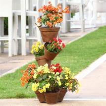 Garden Flower Pot  Plant Stand w/Bird Balcony Deck Patio Outdoor Indoor,... - $315.81