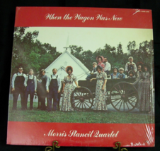 Morris Stancil Quartet - When the Wagon Was New - Bramfaulk SNMS-2886 - $7.00