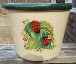 "~~ Ceramic Ladybug Planter ~~ USED ~~ 7 1/4"" x 5 1/2"" ~~ Check It Out &g... - ₨339.24 INR"