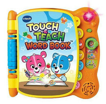 VTech Touch and Teach Wordbook Yellow Ages 18m ... - $24.74