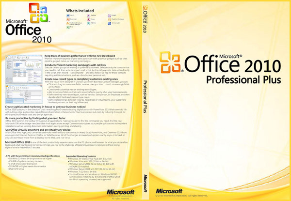 Microsoft office 2010 professional plus 32 64 bits download product key office business - Office professional plus 2010 ...