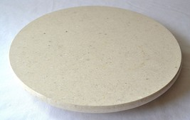 Polished Stone LAZY SUSAN ~ Off-white Color ~ R... - $32.68