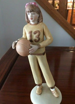 Enesco Growing Up Girls Sports Collection Basketball 13 Figurine - $29.00