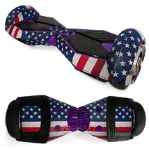 USA Flag  overboard hoverboard 6.5 inch decal skin - $25.00
